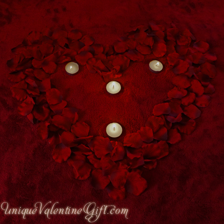 Purchase your Lovers Bed Of Roses online at uniquevalentinegift.com