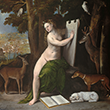 Circe and Her Lovers in a Landscape Print