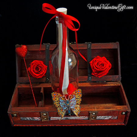 Dancing Butterfly Chest
