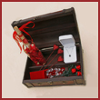 The Duke of Orleans Treasure Chest with Silk Rose Petals