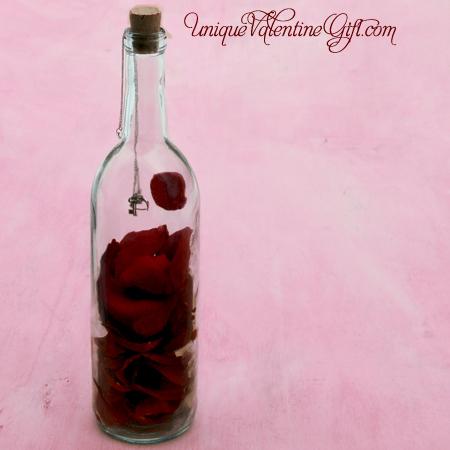 Key to My Heart Message In A Bottle