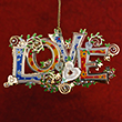 The LOVE Ornament